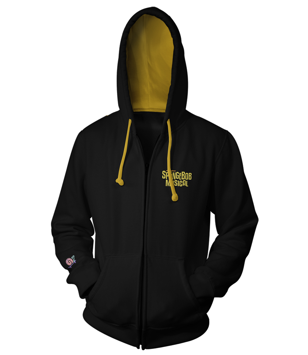 The SpongeBob Musical Logo Zip Hoodie