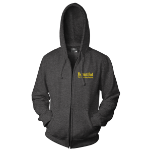 Beautiful Embroidered Logo Hoodie