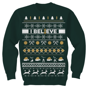The Book of Mormon Ugly Holiday Sweater Pullover