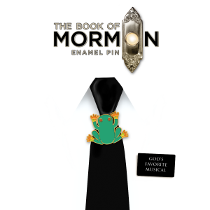 The Book of Mormon Frog Enamel Pin