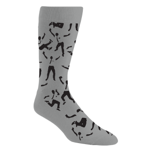 The Book of Mormon Jumping Mormon Socks
