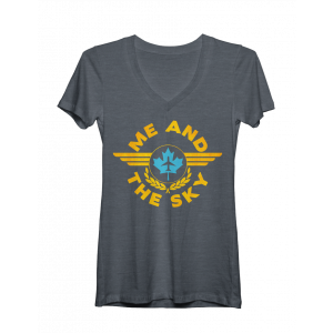 Come From Away Sky Women's V-Neck