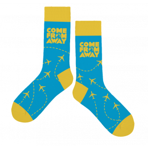 Come From Away Plane Socks