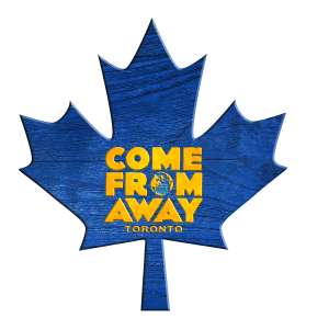 Come From Away Toronto Leaf Magnet