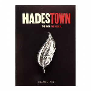 Hadestown Hermes Feather Pin