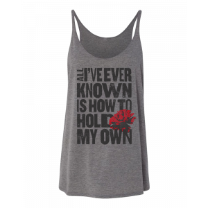 Hadestown Hold My Own Women's Tank Top