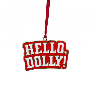 Hello, Dolly! Logo Ornament