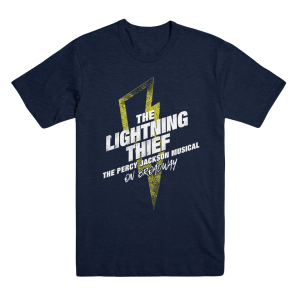 The Lightning Thief Broadway Logo Tee