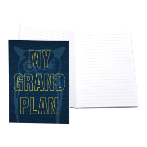 The Lightning Thief My Grand Plan Notebook