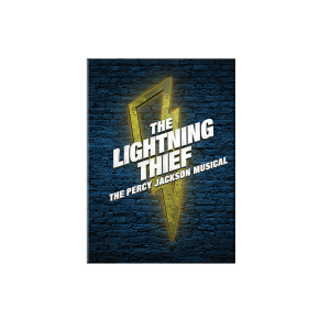 The Lightning Thief Logo Magnet