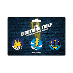 The Lightning Thief Button Set