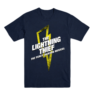 The Lightning Thief Logo Tour Back Tee