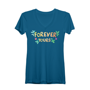 Once On This Island Forever Yours Womens V-neck