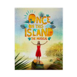Once On This Island Logo Magnet