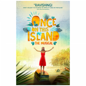 Once On This Island Window Card