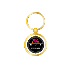 Ain't Too Proud Record Spinner Keychain