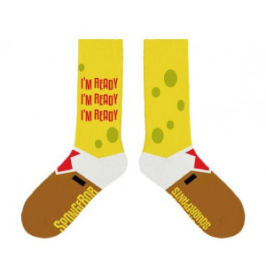The SpongeBob Musical I'm Ready Socks