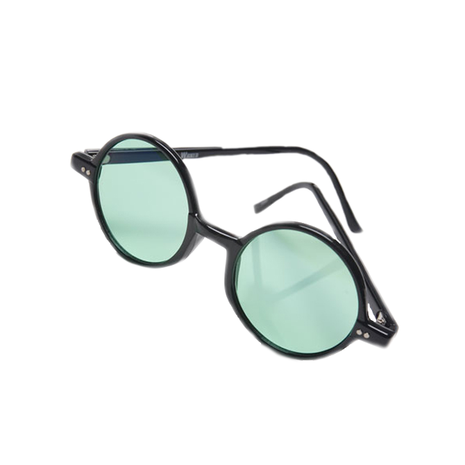 Wicked Green Glasses