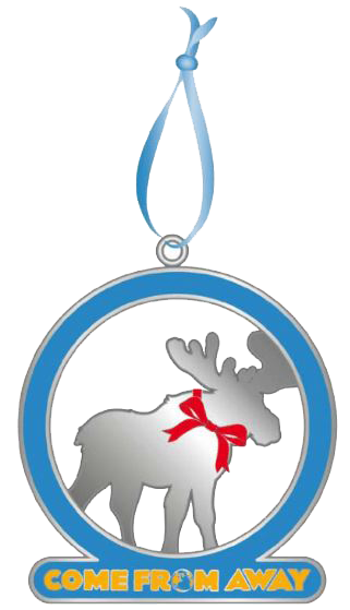 Come From Away Moose Holiday Ornament