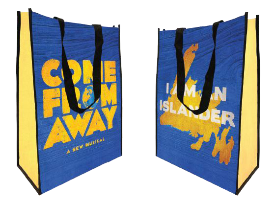 Come From Away Recycled Tote Bag