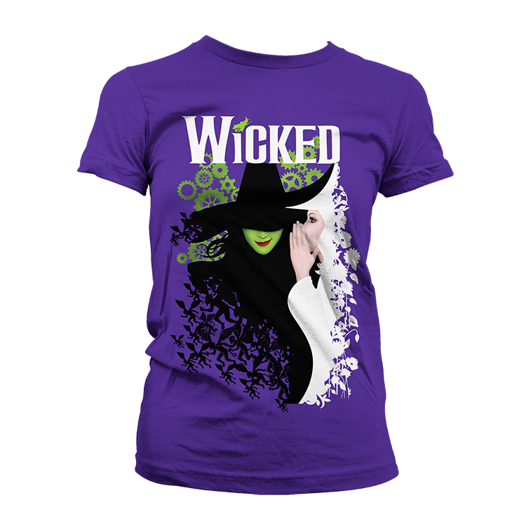 Wicked Two Witch Fitted Tee
