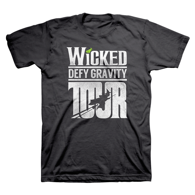 Wicked Block Letter Tour Tee
