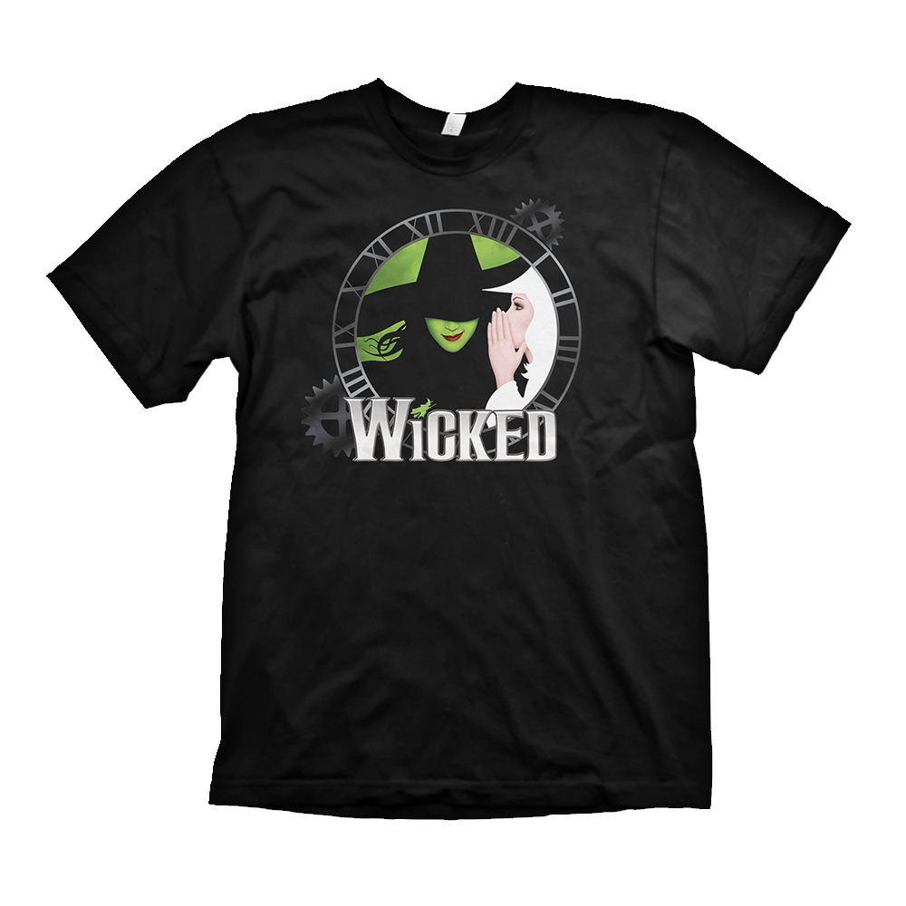 Wicked Clock Two Witch Youth Tee