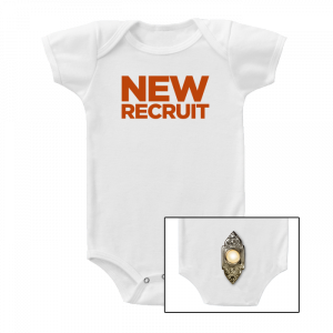 The Book of Mormon New Recruit Bodysuit