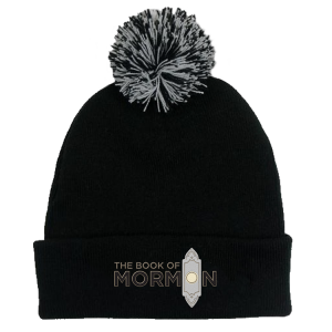 The Book of Mormon Logo Pom Beanie
