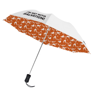 The Book of Mormon Wet with Salvation Umbrella