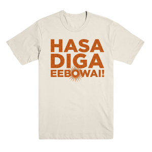 The Book of Mormon Cream Hasa Diga Tee