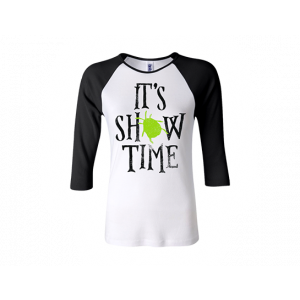 Beetlejuice Women's Fitted Showtime Raglan