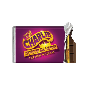 Charlie and the Chocolate Factory Candy Bar Acrylic Magnet