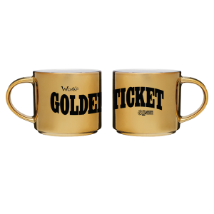 Charlie and the Chocolate Factory Golden Ticket Mug