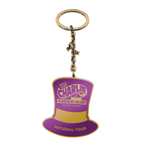 Charlie and the Chocolate Factory Top Hat Keychain