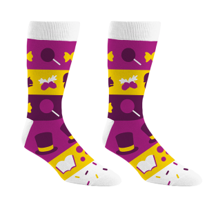 Charlie and the Chocolate Factory Socks