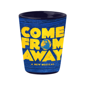 Come From Away Logo Shot Glass