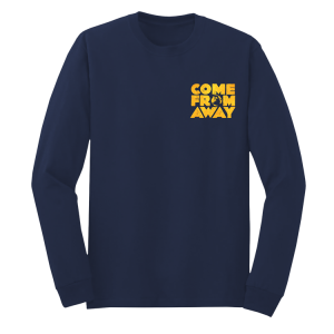 Come From Away Broadway Long Sleeve Logo Tee