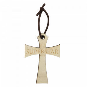 Jesus Christ Superstar Crucifix Ornament