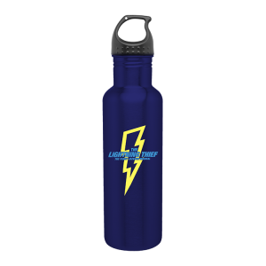 The Lightning Thief Blue Water Bottle