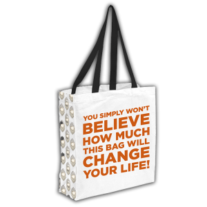 The Book of Mormon Recycled Tote