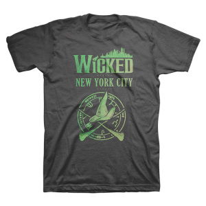 Wicked NYC Skyline Organic Tee