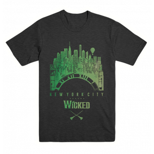 Wicked Unisex NYC Clock Tee